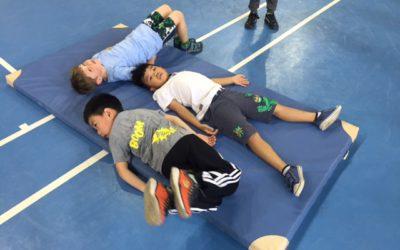 Předškoláci v pohybu –  MŠ Přímětická