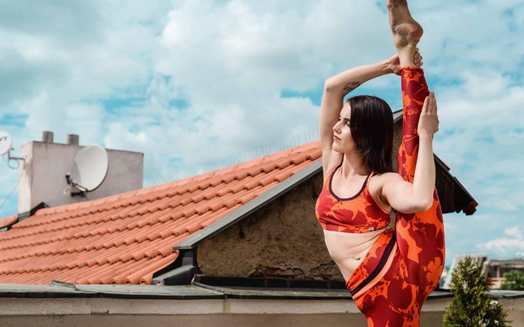 Lekce jógy s Naďou Horskou