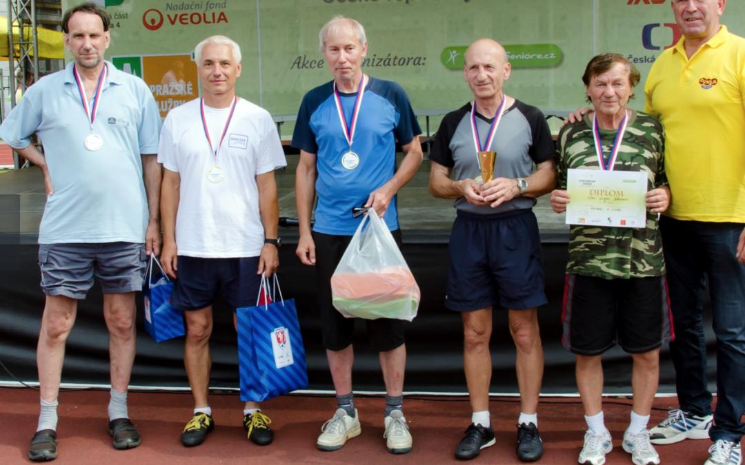 Pan Wilczek úspěšný na Sportovních hrách seniorů!